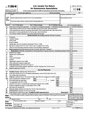 IRS Form 1120H