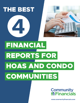 HOA Financial Reports, Condo Association Reports Community